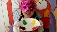 """妹子试吃""""小人脸棒棒果冻"""",四种颜色不同口味,总有一款适合你"""