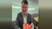 """台湾名嘴""""榨菜哥""""收到两箱榨菜: 感谢网友, 心情无限激动"""