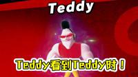 ★任天堂明星大乱斗★Teddy看到Teddy时的反应?综合实力不错造型前卫!★04c