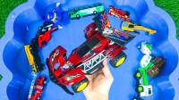 儿童玩具启蒙认知:挖掘机、消防车、超级飞侠、吊车、火车、环卫车、赛车!