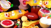 一桌子橙色美食,真是创意满满,有你喜欢吃的吗?