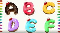 字母涂色游戏 给字母涂上宝宝喜欢的颜色