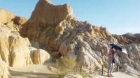 房车自驾游,新疆这个景区还是值得去的,雅丹地貌,门票也不贵!
