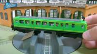 托马斯小火车玩旋转木头人游戏趣味动画