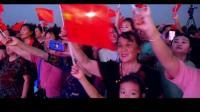临猗南城广场群唱《我和我的祖国》
