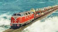 火车从广州到海南,你知道是如何过海的吗?真让人不可思议