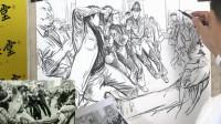 杭州画室厚一学堂速写名师孙强场景速写教学视频,更多教学视频敬请期待!