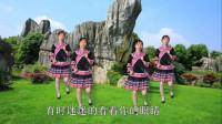 广场舞《心在跳情在烧》表演:静林!