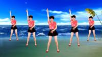 益馨广场舞《大叔很拽》动感扭胯瘦腰腹,快乐又健身,附分解教学