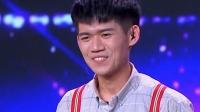 台湾小哥郭孝德曾做街头艺人,酷爱表演执着追梦渴望更大舞台 中国达人秀 20190818