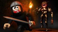 小飞象解说✘Roblox城堡故事模拟器 王国保卫战!抵御兽人入侵!乐高小游戏