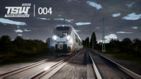【青叶君】TSW2020模拟火车·世界游戏试玩,驾驶莱比锡庞巴迪列车体验新游戏
