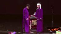 孟鹤堂台上唱戏,结果被周九良踹了一脚,观众笑惨了