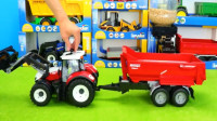 儿童玩具车视频大全 各种工程车卡车挖掘机拖拉机模拟工作