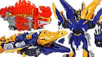 多个骑士龙战队龙装者骑士模式龙装魂恐龙机器人变形机甲玩具开箱