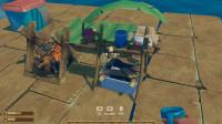 木筏求生:02制作烤炉床研究桌生活必须物品