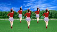 广场舞《潇洒走一回》怀旧经典老歌,轻松快乐的舞步,美美哒