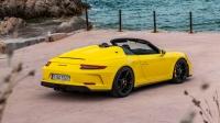 2020 保时捷 Porsche 911 Speedster 展示 - Racing Yellow.