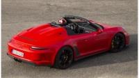2020 保时捷 Porsche 911 Speedster 展示 - Guards Red.