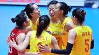 亚锦赛中国女排3: 0印度尼西亚女排 率先晋级八强