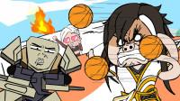 小鲜肉的劲敌出现!唱跳RAP篮球的大对决!围观路人无辜躺枪