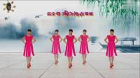 阳光美梅原创广场舞【红尘爱 】抒情大众广场舞-编舞:美梅