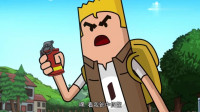 搞笑吃鸡动画:博士把燃烧弹改成炸弹,四胞胎成小白鼠,全员被炸死
