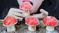 """美女吃货吃""""红蘑菇糖果"""",品尝后惊艳了味蕾,香甜果味多"""