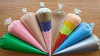 全网最解压的彩色手抓泥,做法非常简单,让人感觉特别好玩