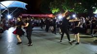 西安精武门艳子吉特巴俱乐部8月18日赵霞悦舞吉特巴夏令营聚舞表演