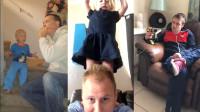 搞笑小视频:是谁说男人带不了孩子?还是有极个别好爸爸的哟