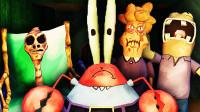 【屌德斯解说】 蟹老板的巧克力 海绵宝宝被一对诡异的母女吓飞!