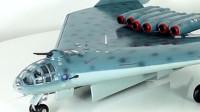 全球最酷轰炸机,70多年前设计,采用6个发动机,性能外形太前卫