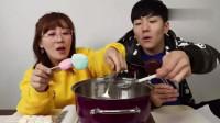 小伶玩具 夏坤姐弟系列之一起来做创意零食糖葫芦吧!