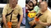 湖南中年男子坐地铁要求女子让座,被拒强行霸座:打死你
