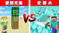 我的世界:秘密基地建造比赛!谁建造的更好呢?