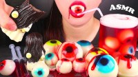 【yummy】鬼魂巧克力,眼球果冻+吃的声音Mukbang万圣节恶作剧(2019年7月30日15时41分)
