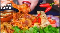【lychee】羊肉罗根乔什+炸土豆+辣椒+洋葱辣羊肉咖喱咖喱饭咀嚼(2019年7月30日16时40分)
