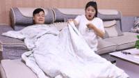 妻子怀孕丈夫睡沙发,半夜却丈夫痛苦呻吟,掀开丈夫被子后呆住了