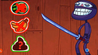 史上最贱最坑爹:今天来玩水果忍者吧?