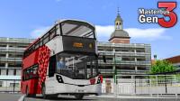 巴士模拟2 - Masterbus GEN3 #1:混动系统坏掉啦!搭载12AMT的沃尔沃B5LH试玩 | OMSI 2 Scunthorpe 4路