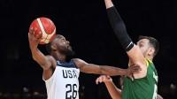 美国男篮102-86大胜澳大利亚取热身赛三连胜,沃克23分特纳两双