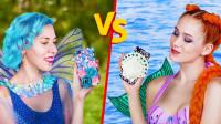 美人鱼VS仙子,十种创意装扮DIY技巧,简单又时尚!