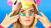 独角兽创意妆容:8种美妆DIY技巧,时尚美丽又大方!