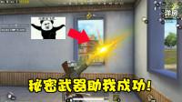 和平精英:小薇为了能够挑战成功研发出了新套路,难道不是犯规?