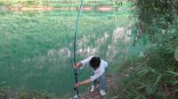 小莫花190块买5支海竿,第一次开钓就中大鱼,这钱花得太值了!