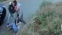 【现场直击】女子遭两男子强行拖进车里,她拼死反抗,监控拍下恐怖全过程!