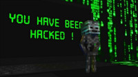 MC怪物学校《黑客入侵》,him电脑中病毒,黑客凋零骷髅登场