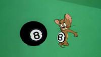 四川话猫和老鼠:汤姆猫打台球顺便给老鼠纹个身,这数字搞笑了!