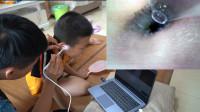 网购一款130万像素可视掏耳勺,这是一期强迫症爱看的硬菜视频!